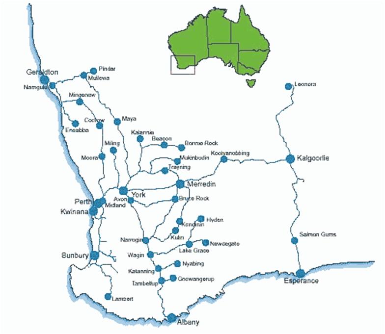 perth rail map australia sydney - photo#19